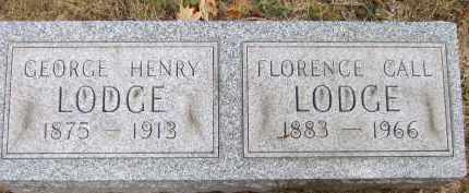 CALL LODGE, FLORENCE R - Summit County, Ohio | FLORENCE R CALL LODGE - Ohio Gravestone Photos