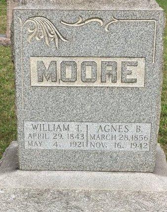 MOORE, WILLIAM T. - Summit County, Ohio | WILLIAM T. MOORE - Ohio Gravestone Photos