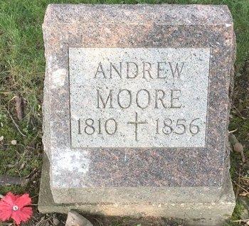 MOORE, ANDREW - Summit County, Ohio | ANDREW MOORE - Ohio Gravestone Photos