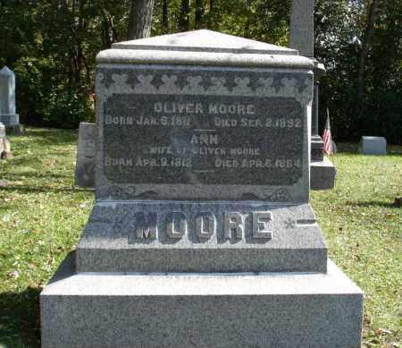 MOORE, OLIVER - Summit County, Ohio | OLIVER MOORE - Ohio Gravestone Photos