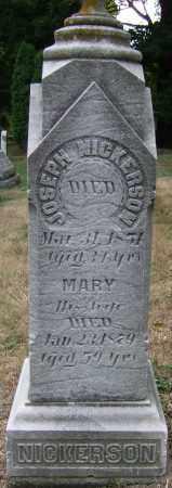 NICKERSON, MARY - Summit County, Ohio | MARY NICKERSON - Ohio Gravestone Photos