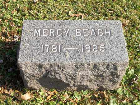 BEACH, MERCY - Trumbull County, Ohio | MERCY BEACH - Ohio Gravestone Photos