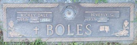 BOLES, RICKEY DALE - Trumbull County, Ohio | RICKEY DALE BOLES - Ohio Gravestone Photos