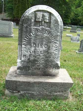 BRONSON, SAMUEL B. - Trumbull County, Ohio | SAMUEL B. BRONSON - Ohio Gravestone Photos