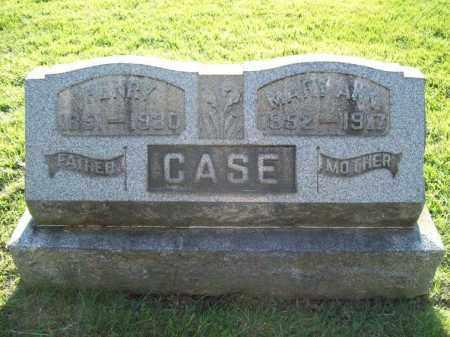 STEELE CASE, MARY ANN - Trumbull County, Ohio | MARY ANN STEELE CASE - Ohio Gravestone Photos