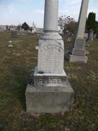 CLARK, DEETT - Trumbull County, Ohio | DEETT CLARK - Ohio Gravestone Photos