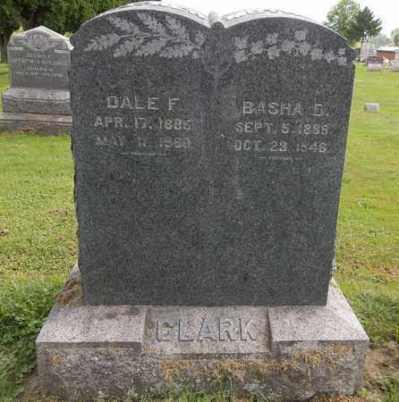 CLARK, BASHA D. - Trumbull County, Ohio | BASHA D. CLARK - Ohio Gravestone Photos