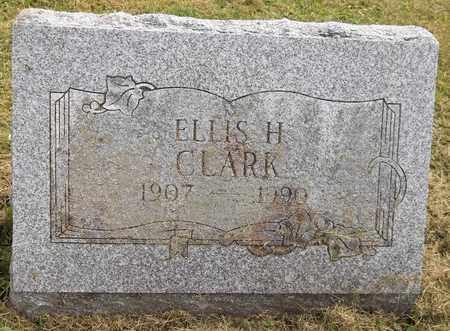 CLARK, ELLIS H. - Trumbull County, Ohio | ELLIS H. CLARK - Ohio Gravestone Photos