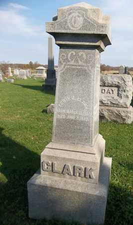 CLARK, EDWIN A. - Trumbull County, Ohio | EDWIN A. CLARK - Ohio Gravestone Photos