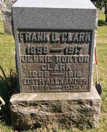 CLARK, FRANK D. - Trumbull County, Ohio | FRANK D. CLARK - Ohio Gravestone Photos