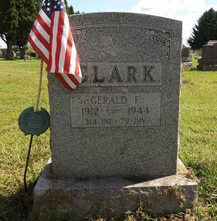 CLARK, GERALD G. - Trumbull County, Ohio   GERALD G. CLARK - Ohio Gravestone Photos