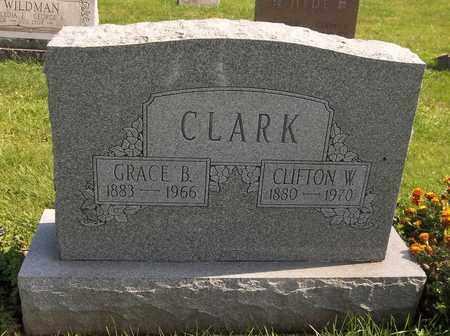 CLARK, GRACE B. - Trumbull County, Ohio | GRACE B. CLARK - Ohio Gravestone Photos