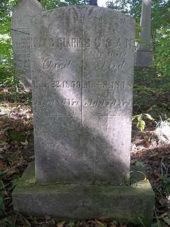 CLARK, ISAAC - Trumbull County, Ohio | ISAAC CLARK - Ohio Gravestone Photos