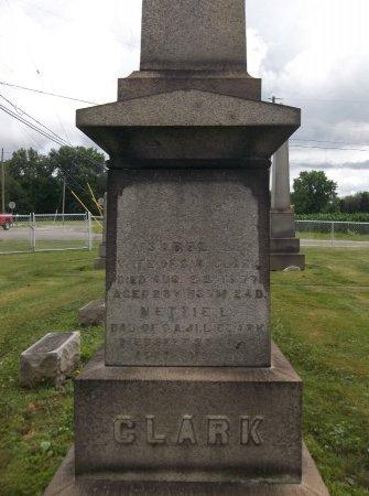 CLARK, NETTIE - Trumbull County, Ohio | NETTIE CLARK - Ohio Gravestone Photos