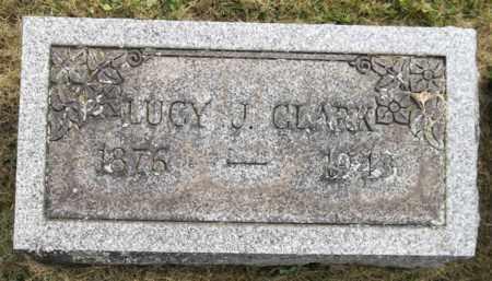 CLARK, LUCY J. - Trumbull County, Ohio | LUCY J. CLARK - Ohio Gravestone Photos