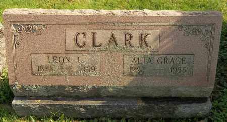 CLARK, ALTA GRACE - Trumbull County, Ohio | ALTA GRACE CLARK - Ohio Gravestone Photos
