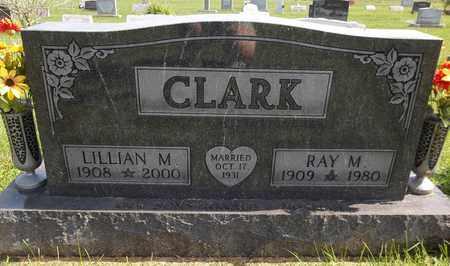CLARK, RAY M. - Trumbull County, Ohio | RAY M. CLARK - Ohio Gravestone Photos