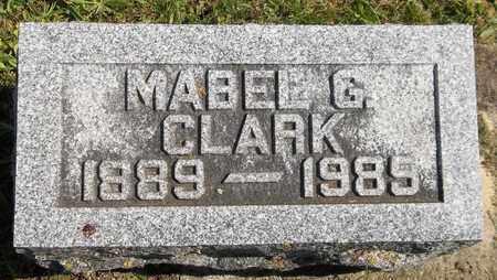 CLARK, MABEL G. - Trumbull County, Ohio | MABEL G. CLARK - Ohio Gravestone Photos