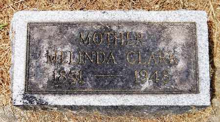 CLARK, MELINDA - Trumbull County, Ohio | MELINDA CLARK - Ohio Gravestone Photos