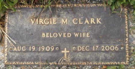 CLARK, VIRGIE M. - Trumbull County, Ohio   VIRGIE M. CLARK - Ohio Gravestone Photos