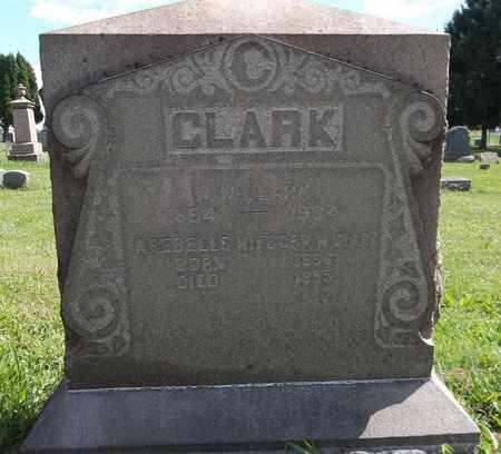 CLARK, W. W. - Trumbull County, Ohio | W. W. CLARK - Ohio Gravestone Photos