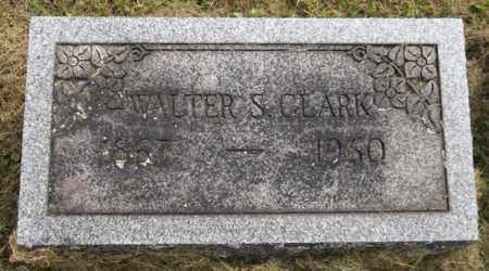 CLARK, WALTER S. - Trumbull County, Ohio | WALTER S. CLARK - Ohio Gravestone Photos