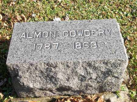 COWDERY, ALMON - Trumbull County, Ohio | ALMON COWDERY - Ohio Gravestone Photos