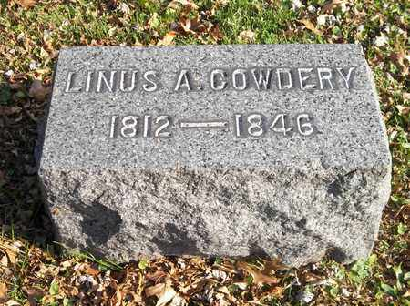 COWDERY, LINUS A. - Trumbull County, Ohio | LINUS A. COWDERY - Ohio Gravestone Photos