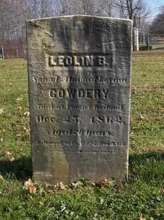 COWDERY, LEOLIN - Trumbull County, Ohio   LEOLIN COWDERY - Ohio Gravestone Photos