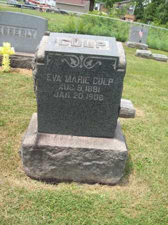 CULP, EVA MARIE - Trumbull County, Ohio | EVA MARIE CULP - Ohio Gravestone Photos