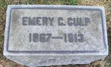 CULP, EMERY C. - Trumbull County, Ohio | EMERY C. CULP - Ohio Gravestone Photos