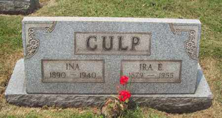 STEINBECK CULP, INA - Trumbull County, Ohio   INA STEINBECK CULP - Ohio Gravestone Photos