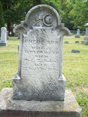 CULP, PHEBE ANN - Trumbull County, Ohio | PHEBE ANN CULP - Ohio Gravestone Photos
