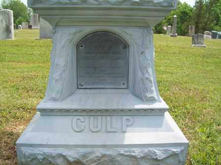CULP, THOMAS - Trumbull County, Ohio   THOMAS CULP - Ohio Gravestone Photos
