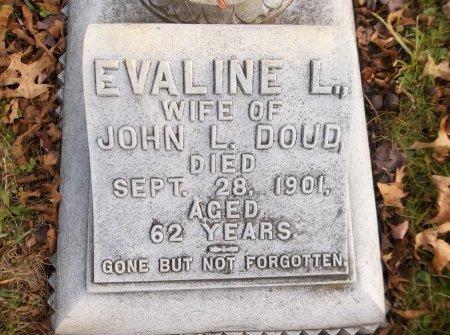 DOUD, EVALINE L. - Trumbull County, Ohio   EVALINE L. DOUD - Ohio Gravestone Photos