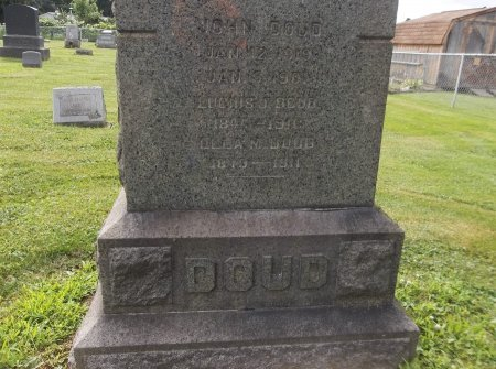 DOUD, JOHN - Trumbull County, Ohio | JOHN DOUD - Ohio Gravestone Photos