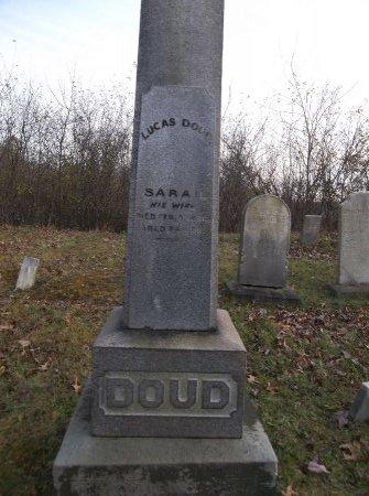 DOUD, LUCAS - Trumbull County, Ohio   LUCAS DOUD - Ohio Gravestone Photos