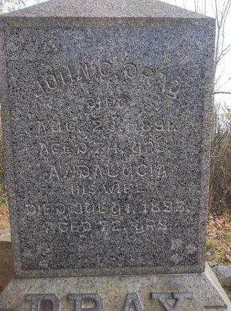 DRAY, JOHN C. - Trumbull County, Ohio | JOHN C. DRAY - Ohio Gravestone Photos