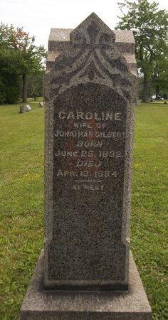 GILBERT, CAROLINE - Trumbull County, Ohio | CAROLINE GILBERT - Ohio Gravestone Photos
