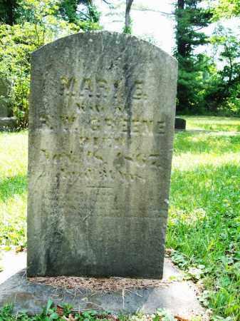 GREENE, MARY E. - Trumbull County, Ohio   MARY E. GREENE - Ohio Gravestone Photos