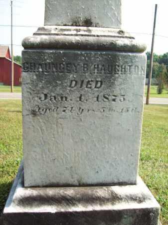HAUGHTON, CHAUNCEY B. - Trumbull County, Ohio | CHAUNCEY B. HAUGHTON - Ohio Gravestone Photos