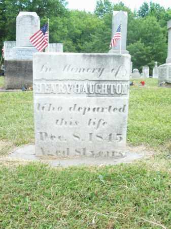 HAUGHTON, HENRY - Trumbull County, Ohio   HENRY HAUGHTON - Ohio Gravestone Photos