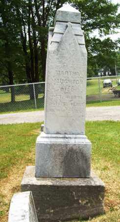 HAUGHTON, MARTHA - Trumbull County, Ohio   MARTHA HAUGHTON - Ohio Gravestone Photos
