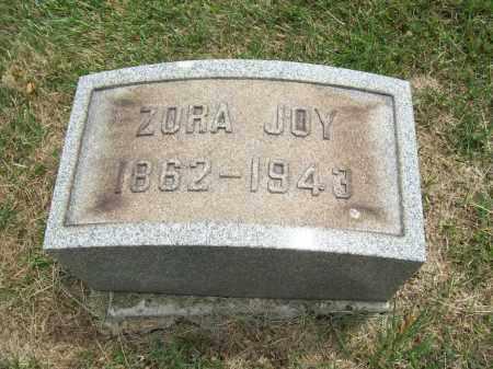 JOY, ZORA - Trumbull County, Ohio   ZORA JOY - Ohio Gravestone Photos