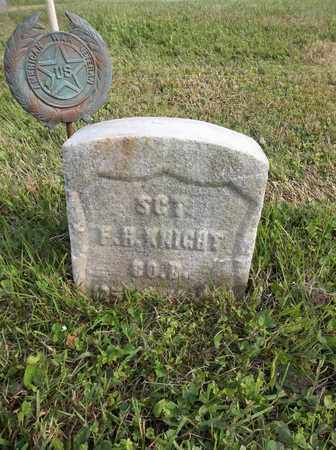 KNIGHT, F. H. - Trumbull County, Ohio | F. H. KNIGHT - Ohio Gravestone Photos