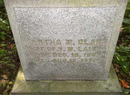 LAIRD, MARTHA M. - Trumbull County, Ohio | MARTHA M. LAIRD - Ohio Gravestone Photos