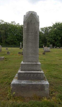 MEEKER, JAMES - Trumbull County, Ohio   JAMES MEEKER - Ohio Gravestone Photos