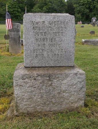 MEEKER, WILLIAM R. - Trumbull County, Ohio | WILLIAM R. MEEKER - Ohio Gravestone Photos