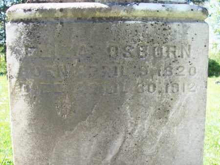 ECHMAN OSBORN, ELIZA - Trumbull County, Ohio   ELIZA ECHMAN OSBORN - Ohio Gravestone Photos