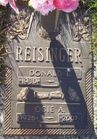 REISINGER, OCIE A. - Trumbull County, Ohio | OCIE A. REISINGER - Ohio Gravestone Photos
